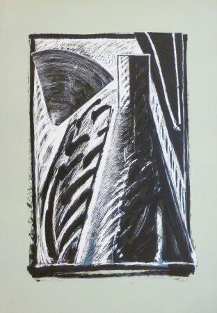 Lithographie Titus Carmel - Composition
