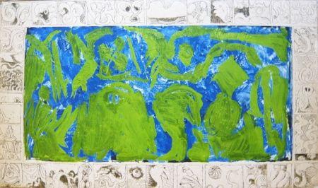 Affiche Alechinsky - Composition