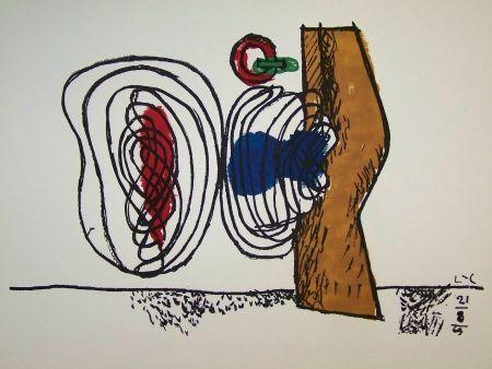 Lithographie Le Corbusier - Composition
