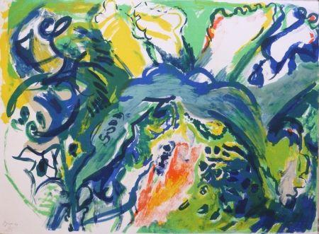 Lithographie Pignon - Composition