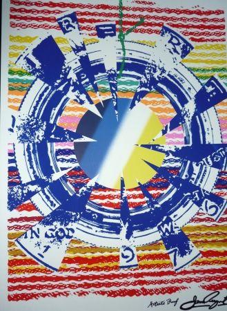 Sérigraphie Rosenquist - Composition