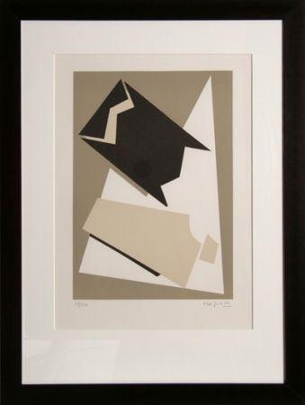 Lithographie Magnelli - Composition