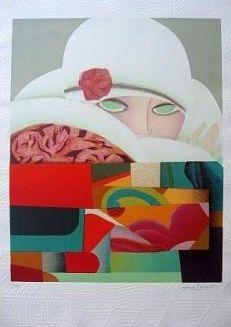 Lithographie Papart - Composition