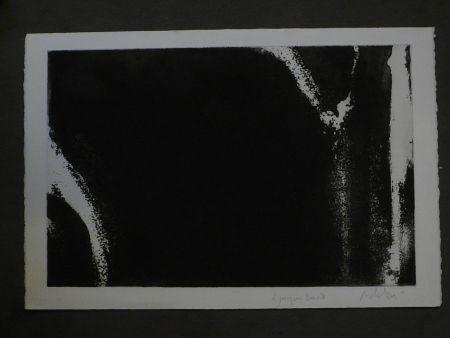 Aquatinte Debré - Composition