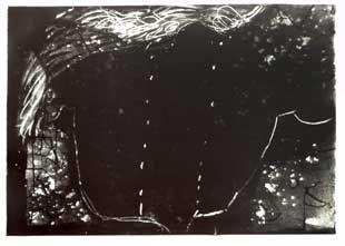 Lithographie Tàpies - Composition