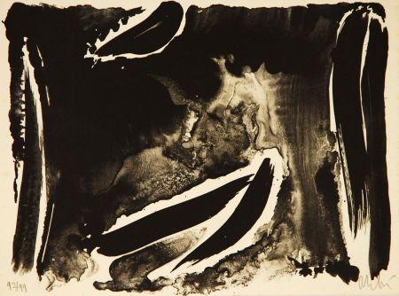 Lithographie Debré - Composition