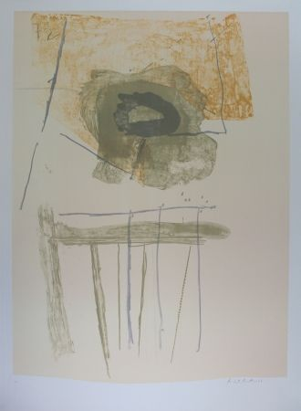 Lithographie Motherwell - Composition