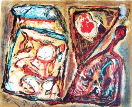 Lithographie Doucet - Composition