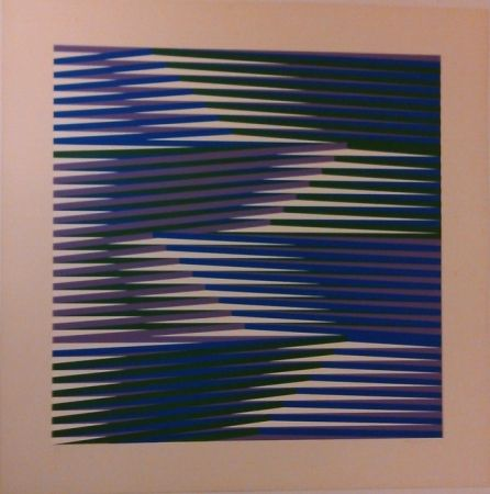 Sérigraphie Cruz-Diez - Composition
