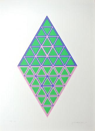Lithographie Glattfelder - Composition
