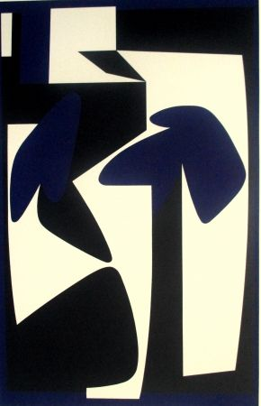 Sérigraphie Vasarely - Composition