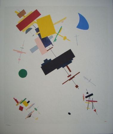 Lithographie Malevitch - Composition