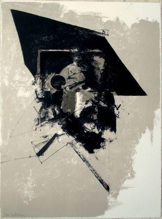 Lithographie Bitran - Composition