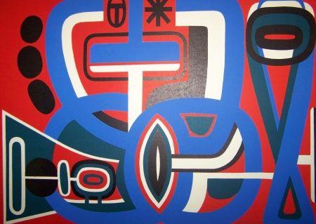 Lithographie Dewasne - Composition