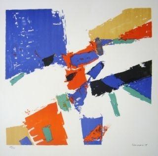 Lithographie Germain - Composition