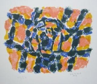 Lithographie Le Moal - Composition