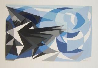 Sérigraphie Furbach - Composition