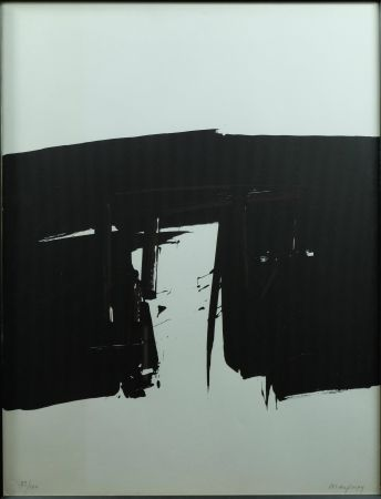 Sérigraphie Marfaing - Composition