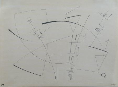 Gravure Leppien - Composition
