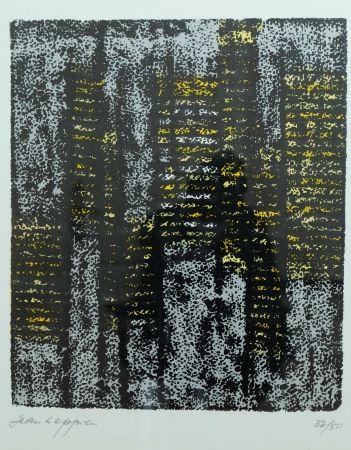 Lithographie Leppien - Composition