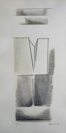 Lithographie Mansouroff - Composition