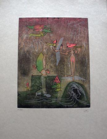 Eau-Forte Matta - Composition