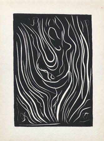 Linogravure Matisse - Composition