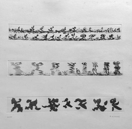 Eau-Forte Michaux - Composition