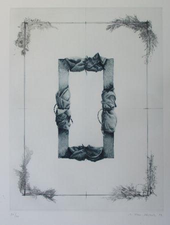 Gravure Titus Carmel - Composition
