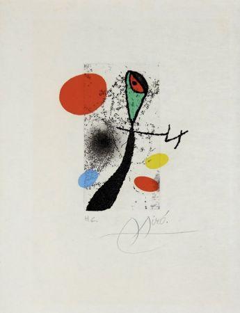 Gravure Miró - Composition