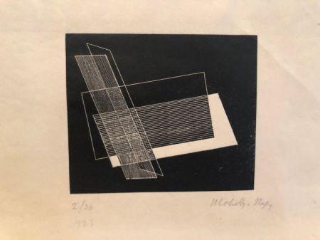 Linogravure László - Composition