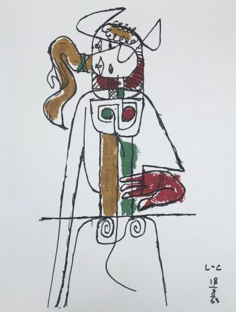 Lithographie Le Corbusier - Composition