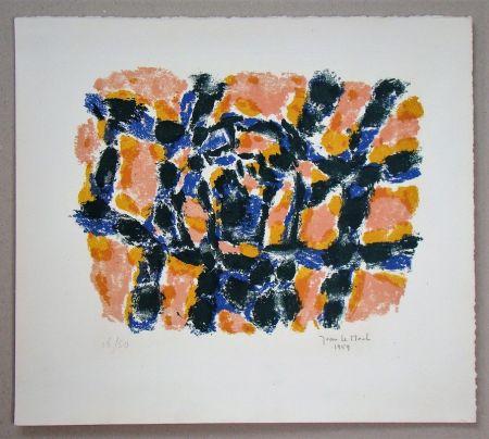 Lithographie Le Moal - Composition - 1959