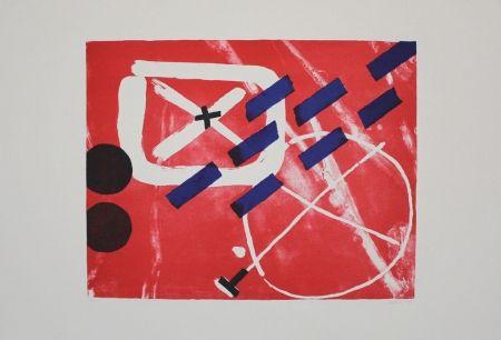 Lithographie Gräsel - Composition 1