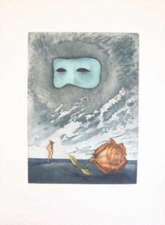 Eau-Forte Et Aquatinte Laventhol - Composition 1