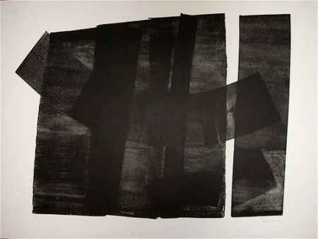 Lithographie Hartung - Composition 1