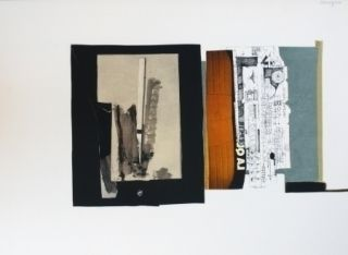 Lithographie Garcia Ponce - Composition 1