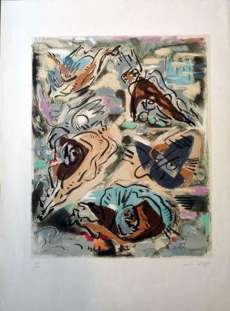 Lithographie Masson - Composition 1