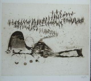 Gravure Friedlaender - Composition 11