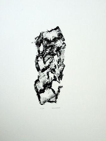 Lithographie Michaux - Composition 114