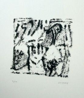 Lithographie Michaux - Composition 119