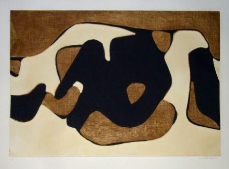 Eau-Forte Et Aquatinte Marca Relli - Composition 12