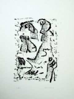 Intaglio Michaux - Composition 120
