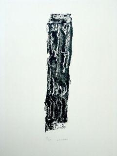 Lithographie Michaux - Composition 124
