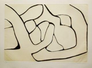 Eau-Forte Et Aquatinte Marca Relli - Composition 15