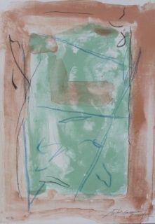 Lithographie Ràfols Casamada - Composition  19