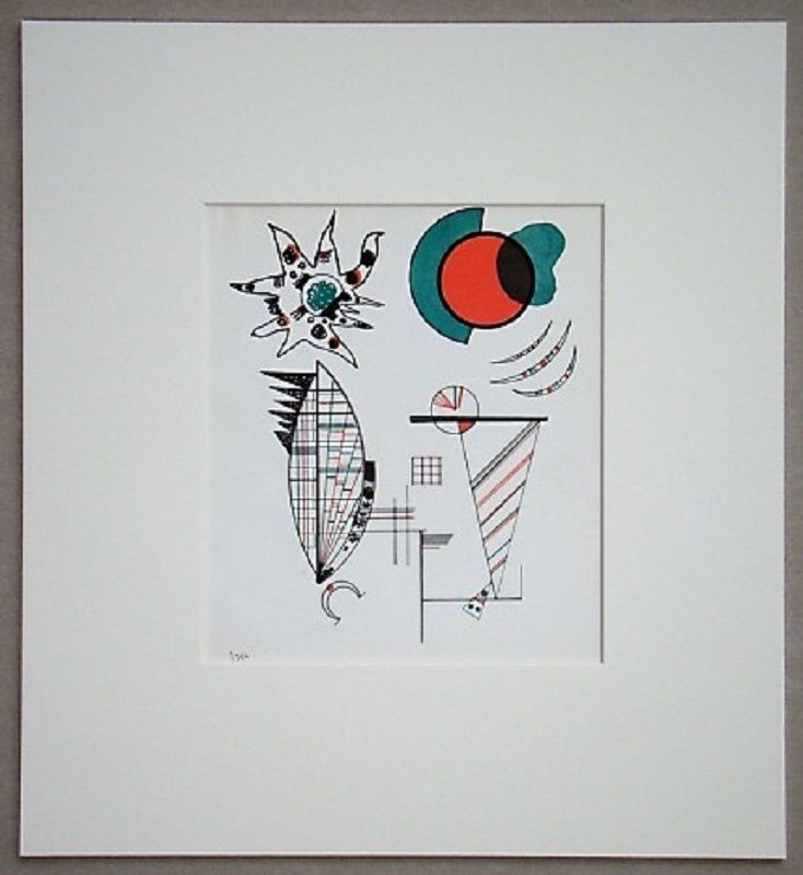 Lithographie Kandinsky - Composition, 1934
