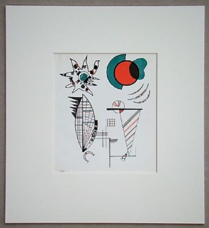 Lithographie Kandinsky - Composition, 1934