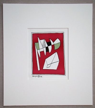 Lithographie Magnelli - Composition, 1942