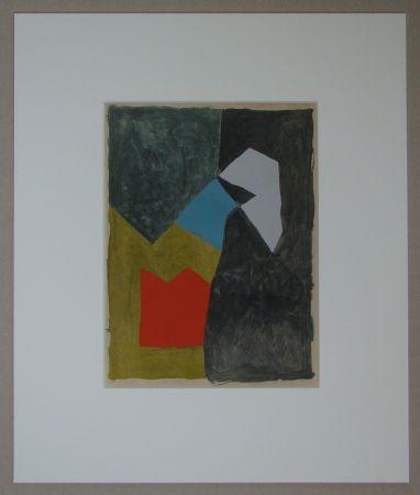 Pochoir Poliakoff - Composition, 1955